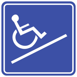 wheelchair ramped up